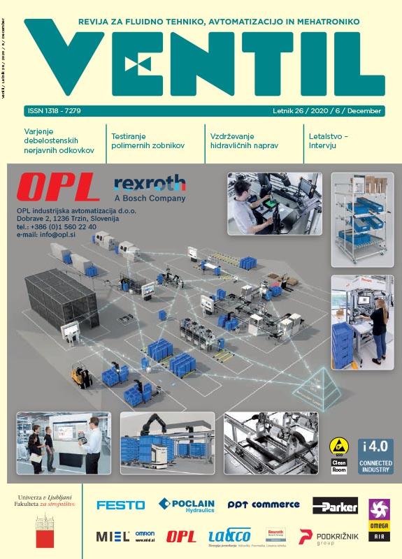 Revija Ventil - Letnik 26 / 2020 / 5