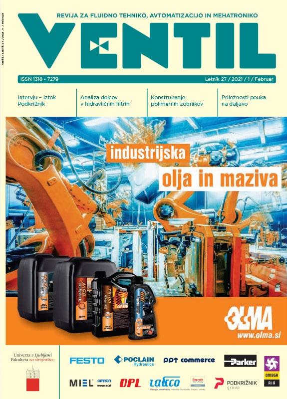 Revija Ventil - Letnik 27 / 2021 / 1 / Februar